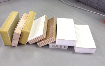 High performance sandwich sandwich panel